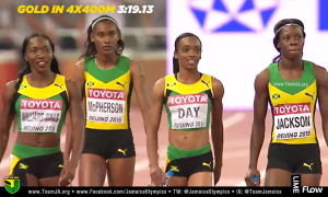 jamaica women 4x400 team